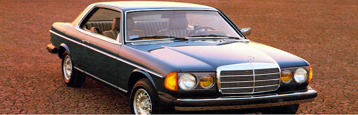 Mercedes-Benz 123 Series Coupe
